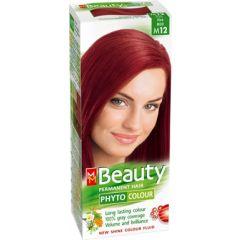 MM Beauty Phyto Colour Трайна фито боя за коса, М12 Огнено червен