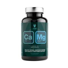 Калций и Магнезий х90 растителни капсули Vital Concept
