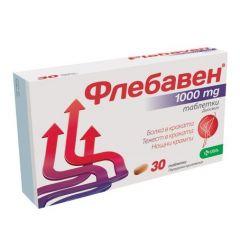 Флебавен при болка и тежест в краката 1000 мг х 30 таблетки KRKA
