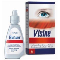 Визин Капки за очи 0.05% х15 мл McNeil