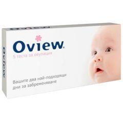 Oview тест за овулация 5 бр.