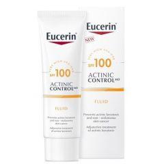 Eucerin Actinic Control MD Слънцезащитен флуид при актинични кератози SPF100 80 мл