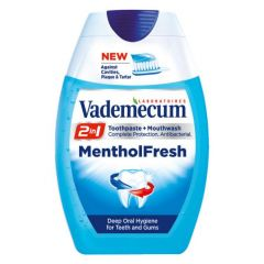 Vademecum Menthol Fresh 2in1 Гел паста за зъби 75 мл
