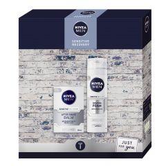Nivea Men Sensitive Recovery Gift Set Подаръчен комплект