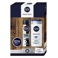 Nivea Men Fresh Boost Gift Set Подаръчен комплект