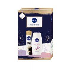 Nivea Diamond Soft Gift Set Подаръчен комлект