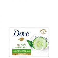 Dove Go Fresh Овлажняващ крем-сапун за ръце, лице и тяло с аромат на краставица и зелен чай 100 гр