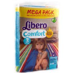 Пелени Libero Comfort Размер 3 Mega Pack 88 бр