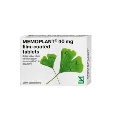NaturProdukt Мемоплант за памет и оросяване 40 мг x20 таблетки