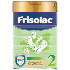 Frisolac 2 адаптирано мляко от 6 - 12 месеца 400 гр
