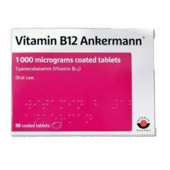 Витамин В12 Анкерман 1000 мкг 50 таблетки Woerwag Pharma