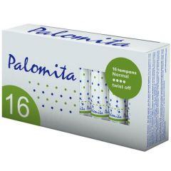 Palomita Normal Twist Off Дамски тампони Размер Нормал 16 бр