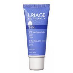 Uriage Bebe 1er Хидратиращ защитен крем за лице за бебета и деца 40 мл