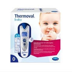 Инфрачервен безконтактен термометър Hartmann Thermoval Baby 3in1