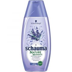 Schauma Nature Moments Шампоан за обем и плътност с билки и лавандула 400 мл
