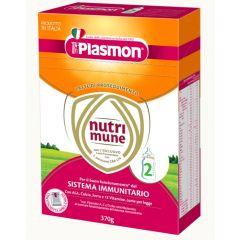 Plasmon NutriMune 2 Сухо мляко за малки деца 6M+ 370 гр