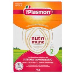 Plasmon NutriMune 2 Сухо мляко за малки деца 6M+ 350 гр 2 бр