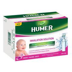Humer Стерилен хипертоничен разтвор за инхалации 3% х30 монодози