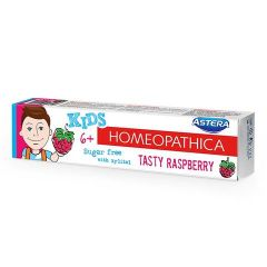 Astera Homeopathica Kids Raspberry Паста за зъби 6+ години 50 мл Aroma