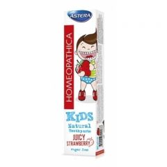 Astera Homeopathica Kids Strawberry Паста за зъби 0+ 50 мл Aroma