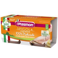 Plasmon Рибно меню лаврак с картофи за деца 6М+ 80 гр 2 бр