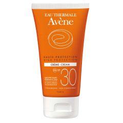 Avene Sun Слънцезащитен крем за лицеза чувствителна кожа SPF30 50 мл