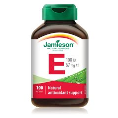 Jamieson Витамин Е 100IU х 100 капсули