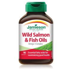 Jamieson Wild Salmon & Fish Oils Рибено масло от дива сьомга х 90 капсули