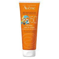 Avene Sun Слънцезащитно млякоза децаза чувствителна кожа SPF50+ 250 мл
