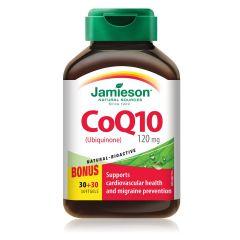 Jamieson CoQ10 Коензим Q10 120 мг x 30 + 30 капсули