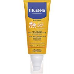 Mustela Слънцезащитен лосион за лице и тялоSPF50+ 200 мл