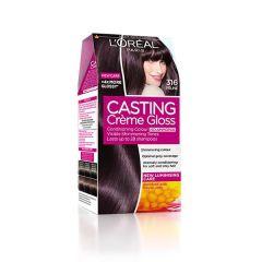 Loreal Casting Creme Gloss Боя за коса без амоняк, 316 Plum