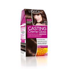Loreal Casting Creme Gloss Боя за коса без амоняк, 515 Chocolate Truffle