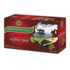 Биопрограма Чаен свят Черен чай х 20 бр