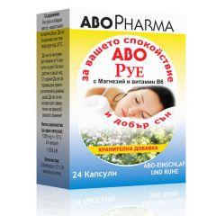 AboPharma Або Руе за успокоение и подобряване на съня х24 капсули
