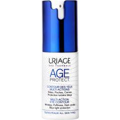 Uriage Age Protect Околоочен крем против стареене за всякакъв тип кожа 15 мл