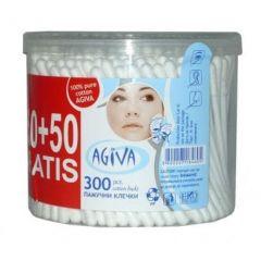 Agiva Клечки за уши Кутия 250 + 50 бр