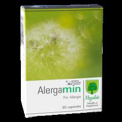 Allergamin за облекчаване на симптомите при алергичен ринит 30 капсули Magnalabs