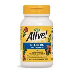 Nature's Way Alive Мултивитамини за диабетици 60 таблетки