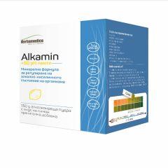 Herbamedica Alcamin за регулиране на рН в организма 150 гр + 50 PH ленти