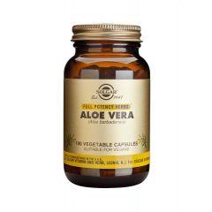 Solgar Aloe Vera Алое Вера антиоксидантно действие x100 капсули
