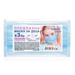 Agiva Hygiene+ Агива Медицинска предпазна маска за деца х3 бр