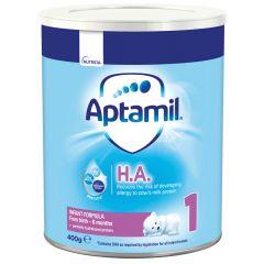 Aptamil HA 1 Адаптирано мляко при алергии 0-6 месеца 400 гр