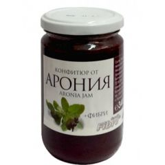 Конфитюр от арония с фибри 340 гр