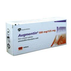 Аугментин 625 мг х21 таблетки GlaxoSmithKline
