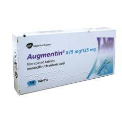 Аугментин 1 гр х14 таблетки GlaxoSmithKline