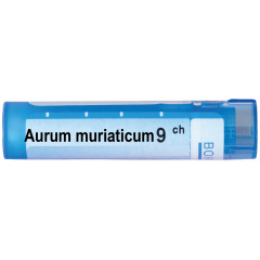 Boiron Aurum muriaticum Аурум муриатикум 9 СН