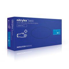 Нитрилни ръкавици кутия L х100 Mercator Medical