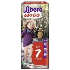 Пелени - гащички Libero Up&Go Размер 7 х32 бр
