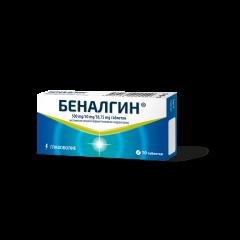 Беналгин при главоболие 500 мг х10 таблетки Actavis